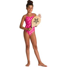 arena Tropical Summer Jednoczęściowy strój kąpielowy Dziewczynki, różowy